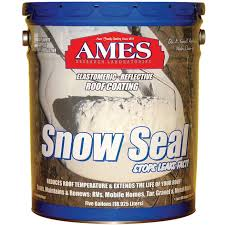 Sta Kool Elastomeric Roof Coating by Ames 5gal Snow Seal Roof Coating Ss5 Roof Foundation