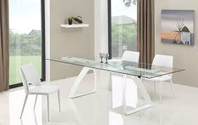 dining tables extendable glass top dining tables dining room