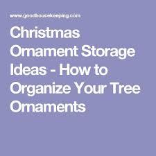 Christmas Decoration Storage Pinterest by Best 25 Christmas Ornament Storage Ideas On Pinterest Ornament