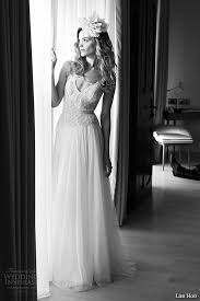 lihi hod wedding dress lihi hod 2015 wedding dresses noir in white bridal