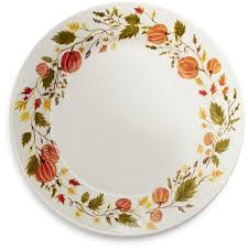 pumpkin dinner plate 5 96 liked on polyvore featuring home