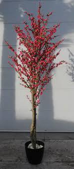 2m artificial pink cherry blossom tree plantart