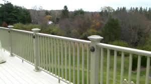 Outdoor Fence Lighting Ideas by Planning On Lighting Your Deck With Low Voltage Youtube