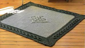 Celtic Area Rugs Celtic Cables Area Rug Knitting Pattern Celtic Kitchen Area Rug