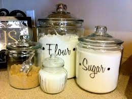 clear glass kitchen canister sets adorable glass kitchen