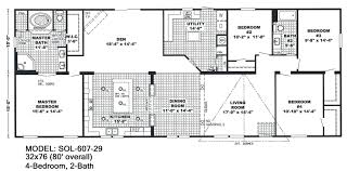 redman homes double wides p 4 bedroom 3 bath house floor plans