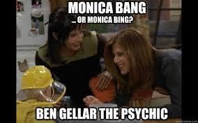 Psychic Meme - friends 1994 meme ben gellar the psychic on bingememe