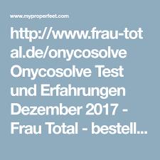 total si e http frau total de onycosolve onycosolve test und erfahrungen