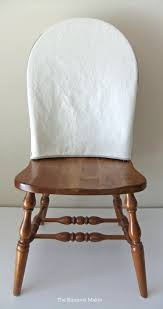 White Slipcover Dining Chair How To Make Slipcovers For Dining Room Chairs With Arms Ikea White