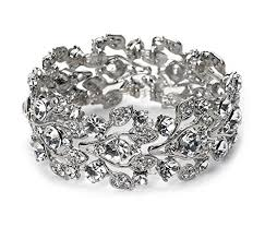 wedding jewelry bracelet crystal images Accessoriesforever bridal jewelry crystal rhinestone jpg