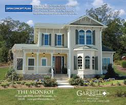 monroe house monroe house plan house plans by garrell associates inc