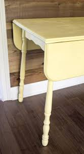 Yellow Accent Table By Design Episode 22 Repurposed Tables U2013 By Design