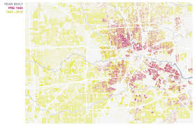 Map Of Houston Area Why Does Houston Seem So Young U2013 The Urban Edge
