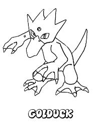 golduck coloring pages hellokids com