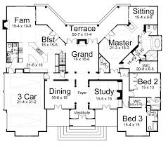 european house plans one house plan 98245 at familyhomeplans com
