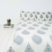 Urban Duvet Covers Cato Grey Henna Block Duvet Cover Urban From Urban Outfitters