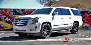 cadillac jeep 2017 white dub wheels u0026 tires authorized dealer of custom rims