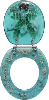 themed toilet seats decorative toilet seat nautical dolphin lobster design