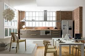 salon et cuisine ouverte amenagement salon cuisine 35m2 cuisine americaine avec bar idées