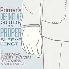 primer u0027s guide to proper coat sleeve length primer
