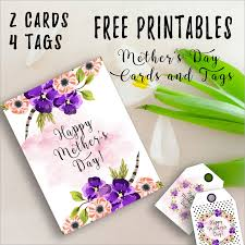 free printable mother u0027s day cards