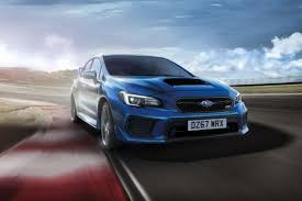 blue subaru gold rims subaru wrx sti final edition is last of its kind carbuyer