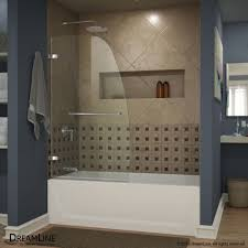 Dreamline Infinity Shower Door by Dreamline Shower U0026 Tub Doors Build Com Shop Infinity Glass