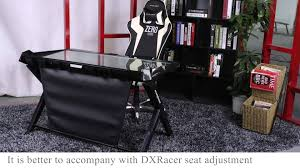 Gameing Desks by Dxracer Gaming Desk Introductiongd 1000 Hd Youtube