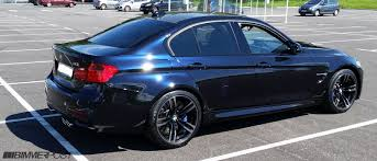 Bmw M3 Colour Individual F80 M3 Azurite Black Sakhir Orange