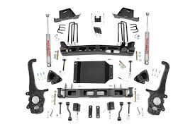 nissan titan lug pattern 6in suspension lift kit for 04 15 nissan titan rough country