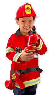 Fireman Costume Fire Chief Costume Ships Free