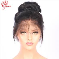 baby hair 8a180 density silky human hair lace wig with baby hair