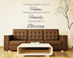 vinyl wall words decal blessing home family words sticker vinyl blessing family wall zoom