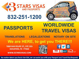 Texas where can i travel without a passport images 3 stars visas and passports passport visa services 7880 san jpg