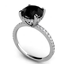black diamond wedding sets 3 00ct black diamond engagement ring aaa grade