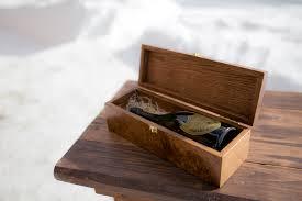 wine box wedding ceremony wedding wine boxes letters ceremony