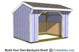 Small Wood Shed Plans by 12x12 Run In Shed Plans 12x12 Shed Plans Pinterest Barn