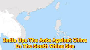 Ups Route Map by India Ups The Ante Against China In The South China Sea Youtube