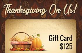 thanksgiving on us giveaway freebie