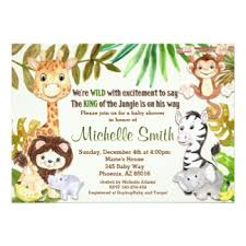 jungle baby shower king of the jungle baby shower invitations yourweek 0e95d3eca25e