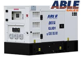 8kva diesel generator perth brisbane diesel generators online