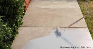 new look concrete coatings how to paint a concrete patio floor