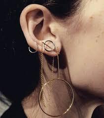 cool earrings how to wear hoop earrings