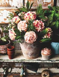 cupcake flowers cupcake flowerpot bouquet sainsbury s magazine