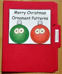 merry christmas ornament patterns file folder game 1 00 file