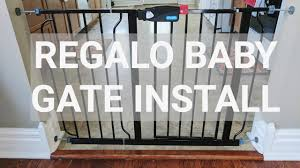 Baby Gates For Stairs No Drilling Fun Timelapse Regalo Baby Gate Install Not A How To Youtube