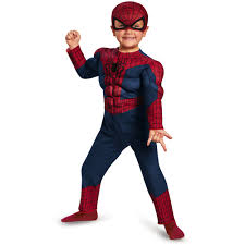 spider man movie 2 muscle toddler halloween costume walmart com