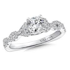 interlocking engagement ring wedding band valina diamond engagement ring mounting in 14k white gold 29