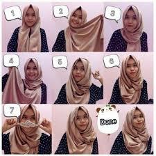 tutorial hijab pashmina tanpa dalaman ninja til praktis dengan tutorial hijab modern simple tanpa ciput