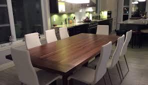table cuisine en bois tables en bois signature dion signature stéphane dion